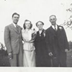 Group Photo – Brother-in-law Frank McDowell, sister Anne, mother Lyda, father Samuel