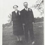 Group Photo – His parents: Samuel and Lyda McCooeye
