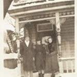 Family photo – Brother Cecil, sister-in-law Lillian, sister Anne
