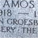 Inscription – A memorial inscription for Lieutenant Amos Ragen found on the Ragen family marker at Necropolis Cemetery, Toronto, Ontario.  Photo courtesyof Craig B. Cameron.