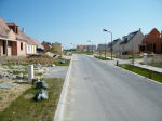 """Street – The new street in Sacy le Grand christened """"F/O Henry MacKenzie"""" on June 25, 2011."""