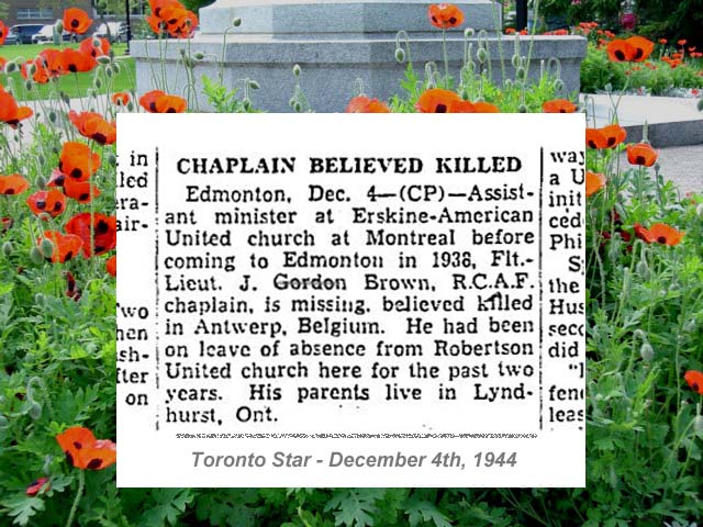 Newspaper Clipping – Newspaper - Deaths on Active Service
