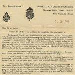 Letter dated 7 December 1948
