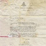 Letter dated 11 July 1947