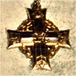 Silver Cross – Silver Cross given to Stanley's mother after his death.