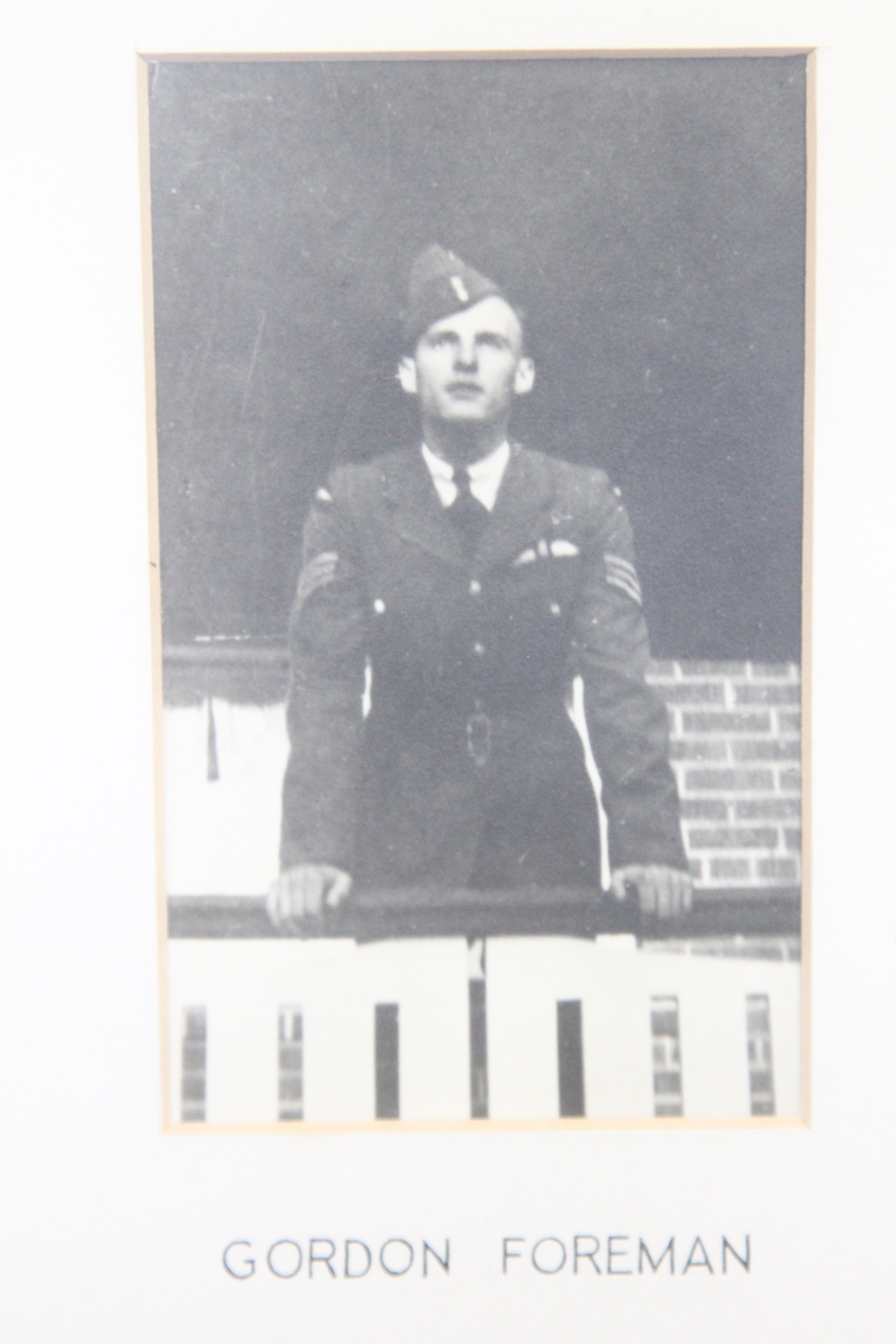 Photo of GORDON JAMES FOREMAN – In memory of the students from the Vaughan Road Collegiate Institute  (Toronto) who went away to war and did not come home. Submitted for the project, Operation Picture Me