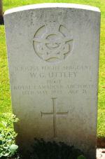 Grave Marker – Courtesy of Wilf Schofield, England.