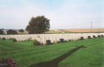 Cemetery – The Dieppe Canadian War Cemetery, located just outside Dieppe, France.  (J. Stephens))