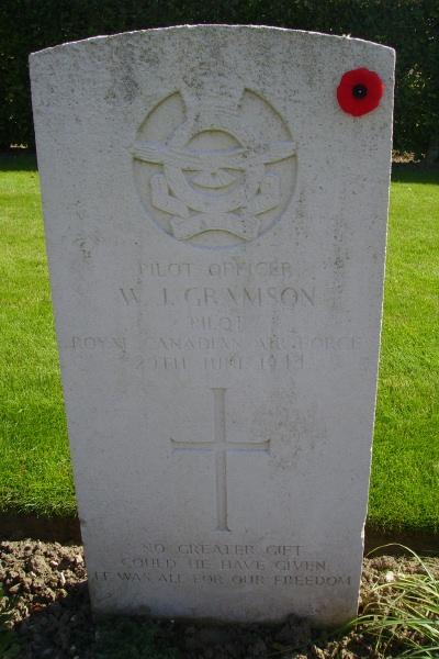 Grave Marker – Grave marker - Dieppe Canadian War Cemetery - August 2012 Photo courtesy of Marg Liessens