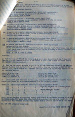 Document – This is page 2 of an Mobile Research & Enquiry Unit document recording the exhumation of 16 bodies from a cemetery in Koethen, Germany in 1947.  The crew of Cobbett's plane were identified.  He had been buried there, but the American's had mistaken him for one of their airman and removed him to France.   Source: Library & Archives Canada, RG24 via R. Whitehouse