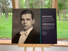 """Photo of PAUL MARTIN ROCHE – Paul's portrait was one of twenty chosen for an exhibit at Vimy Ridge entitled """"Faces of Freedom"""" running May-November, 2019."""