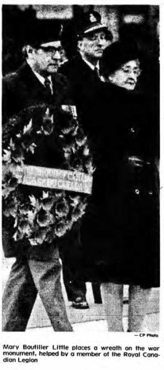 Newspaper Clipping – Mrs Mary Boutillier Silver Cross Mother 1977. Submitted for the project, Operation Picture Me