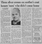 Newspaper Clipping – Provided by John Stephens