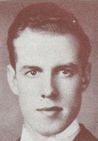 Photo of James McKague – Photograph of McKague from Torontonensis, University of Toronto's yearbook in 1939