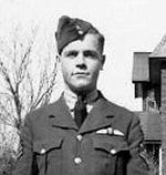 Photo of William Harold Morrison – Flying Officer William Harold Morrison in Montreal