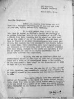Circumstances of Death – Circumstances of Morrison's death, in letter from LAC, Ottawa.