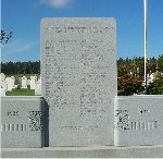 Springbrook War Memorial – This war memorial is located in Springbrook, Prince Edward Island.