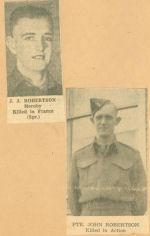 Photo of JOHN JAMES ROBERTSON – newspaper KIA