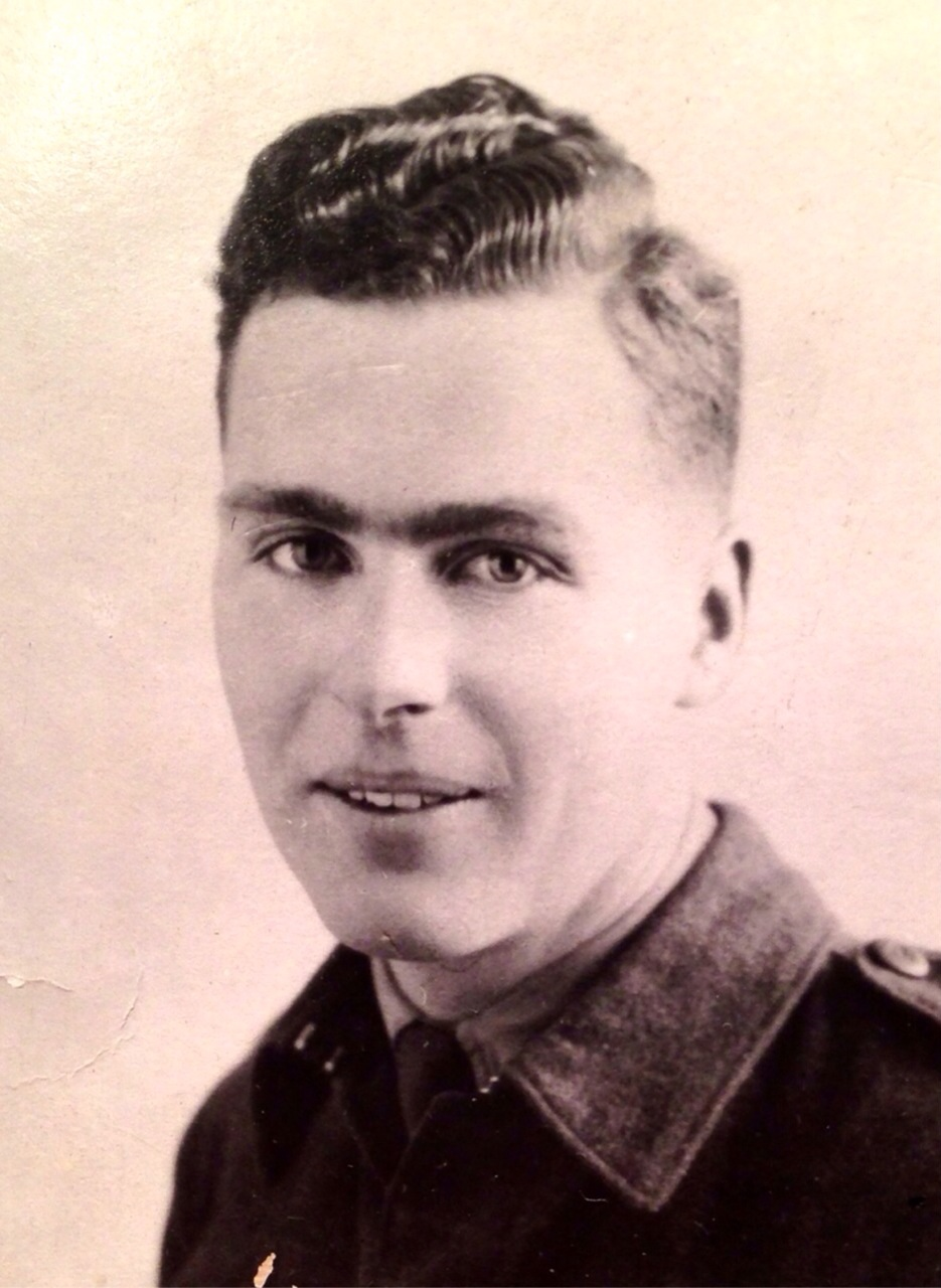 Photo of John Scoular – Sergeant John Scoular, the uncle we never met...died on August 17, 1944 in France. A brave Canadian soldier, a beloved son and a brother.  Died for the cause at only 22 years of age. He missed so much... as have we. PJJ