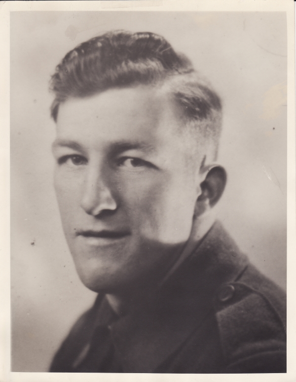 Photo of Floyd Scriver – Private R.Floyd Scriver of the Algonquin Regiment, R.C.I.C. who died on Tuesday, 9th August 1944, age 22. Additional info: Son of Joshua and Edythe Scriver of Huntsville, Ontario