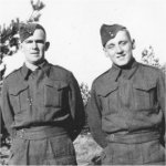 Photo of David Seitz – David Seitz(on right). Photo taken with my father Victor Ralston somewhere in Holland in 1944 shortly before David's death.