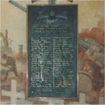 Memorial Plaque – The memorial at De La Salle College (Oaklands) Toronto to the former students killed in the Second World War.