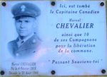 Commemorative Plaque – Commemoratif Plaque for the 60th Anniversary of Liberation (August 23, 2005).