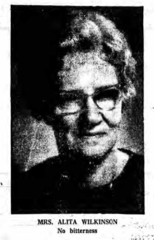 Newspaper Clipping – Mrs Alta Wilkinson Silver Cross Mother 1975. Submitted for the project, Operation Picture Me
