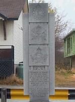 Monument – Monument situés à Baie Verte, Terre-Neuve, et où Joseph est honoré.
