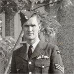 Photo of Charles (Chuck) Gardner – Charles (Chuck) Gardner in uniform. Photo c. 1941