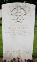 Grave Marker – Photo provided by The Commonwealth Roll Of Honour Project. Volunteer Owen D