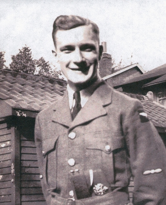 Photo of NORMAN WILLIAM BARBEAU – Memorialized on the pages of the Globe and Mail. Submitted for the project, Operation Picture Me