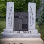 Elgin War Memorial – Elgin War Memorial Elgin,Albert County, New Brunswick