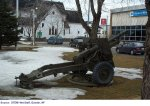 "Military Weapon – ""This military weapon is in downtown Corner Brook, where Samuel is