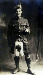 Photo of James Doane – Photo taken in Saint John, New Brunswick prior to being sent overseas
