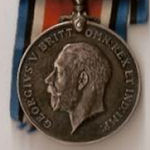 Medals – The British War medal and Victory medal.