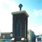 Streetsville Ontario War Memorial – Floyd E. Graydon's name is included on the Streetsville Ontario War Memorial.  The memorial was unveiled on July 1st, 1926 and restored in 1993.  Photo taken in 2002.