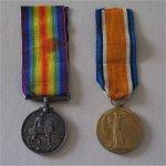 Medals – Hugh McMillan's WW1 Medals