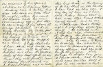 Letter, Page 2 – Letter of Condolence to Mrs. McKinlay (Frank's mother), side 2