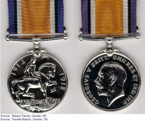 Médaille de Guerre Britannique