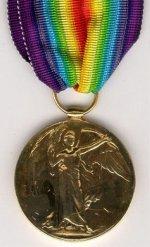 Victory Medal (Inter-Allied War Medal) – Victory Medal (Inter-Allied War Medal) donated by the Batson family of Gander, Newfoundland.
