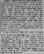 Newspaper Clipping – source Calgary Herald. September 19, 1918, page 13