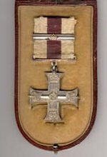 Military Cross – Military Cross awarded to Captain Arthur Batson, in its original case (right).