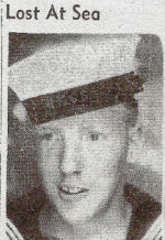 Newspaper clipping – Ordinary Seaman Elmo Retlaw Farewell who served on the H.M.C.S. Windflower, a Canadian corvette.  Elmo was lost at sea when the corvette was rammed by a ship off the Grand Banks in December of 1941 in dense fog. Thank you for your service Uncle Elmo