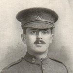 Photo of James Robertson – Enlisted February 10th, 1916, with the 168th Battalion. Transferred to the 18th Battalion 1917. Killed in action August 21st, 1917.