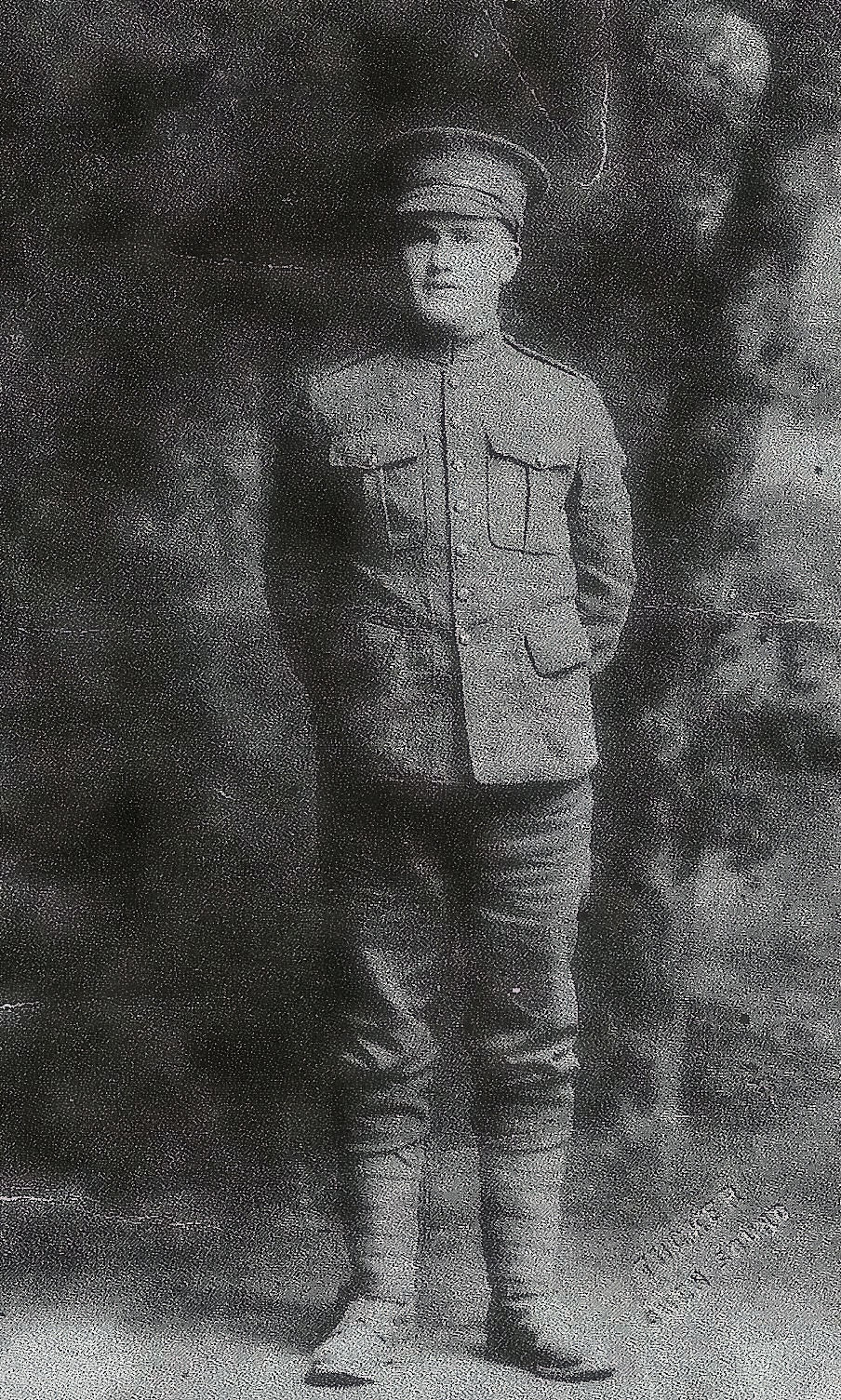 Photo of William Earl Foster – Brother of Private Robert Wellington Foster who was KIA on April 22, 1918 and brother of Sgt. Wilmer Alexander Foster who was KIA in WWII.