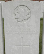 Grave Marker – Grave Marker.  Submitted by 15th bn Memorial Project Team.  Dileas Gu Brath