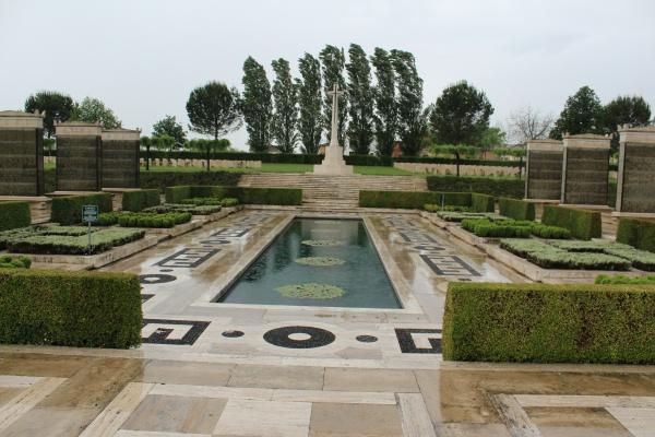 Cross of Sacrifice – Cross of Sacrifice - Cassino War Cemetery - May 2013