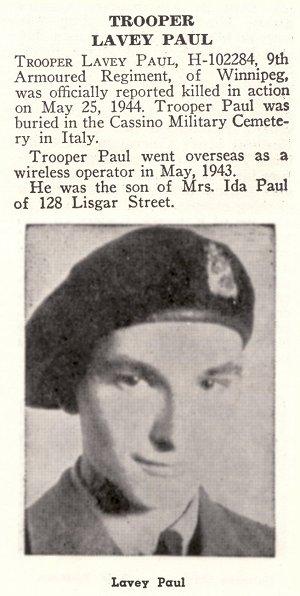 Photo of Lavey Paul