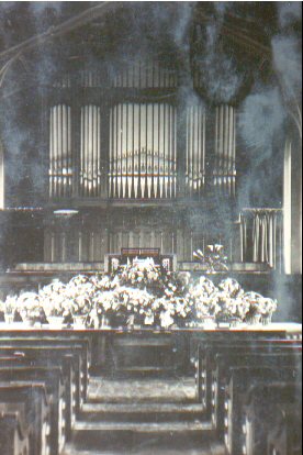 Photo of Memorial Service
